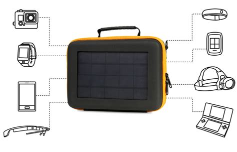 gopro solar charger sunnybag solar gopro bag phone charger iphoneness