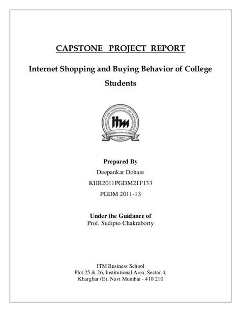 capstone report template capstone report new