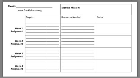 strategic planning download a strategic plan template