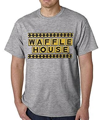 Waffle House Gift Card Amazon - amazon com bioworld official waffle house funny vintage mens t shirt clothing