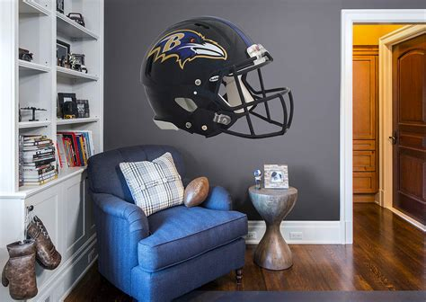 baltimore ravens home decor baltimore ravens helmet wall decal shop fathead 174 for