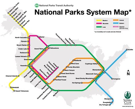 us national parks map national parks on a transit map 171 cbs chicago