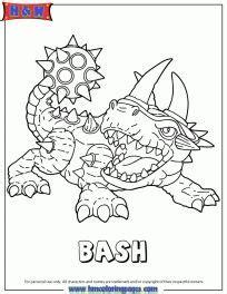 skylanders trap team coloring pages shrednaught