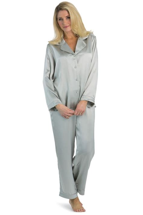 womens silk pajamas morning dew classic luxury pjs gift 17 best images about pyjama on pinterest custom gift