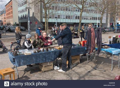 copenhagen light district flea market on halmtorvet vestrerbro in copenhagen every