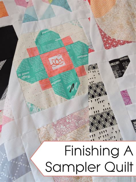 Finishing Quilts by Finishing A Sler Quilt Use Your Quilt Blocks Blossom
