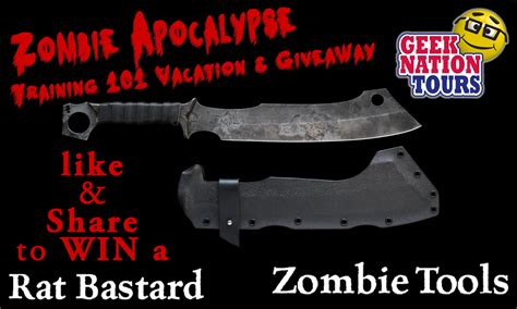 zombie with both wrench and geek nation tours facebook giveaways happening now