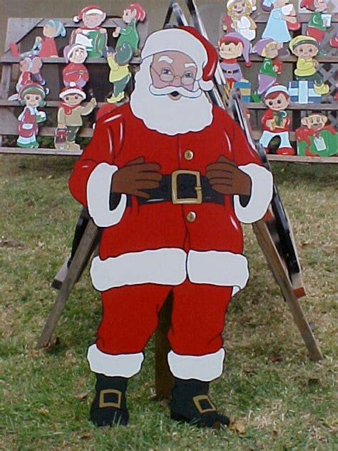 santa wood yard art welcome to my homepage