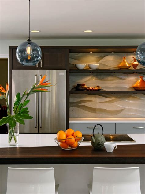 open kitchen cabinets pictures ideas tips from hgtv hgtv open kitchen wall shelves home decorating ideas style