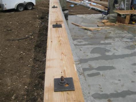 anchoring foamboard to concrete wall exterior shed clading in irelands weather doityourself
