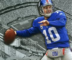 Eli Manning Yogi Berra by Samuel Beckett March 2010