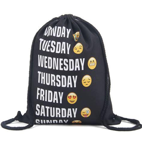 Tas Backpack Wanita A331784 Model 3 In 1 Harga Distributor Termurah tas ransel serut drawstring model emoji black jakartanotebook