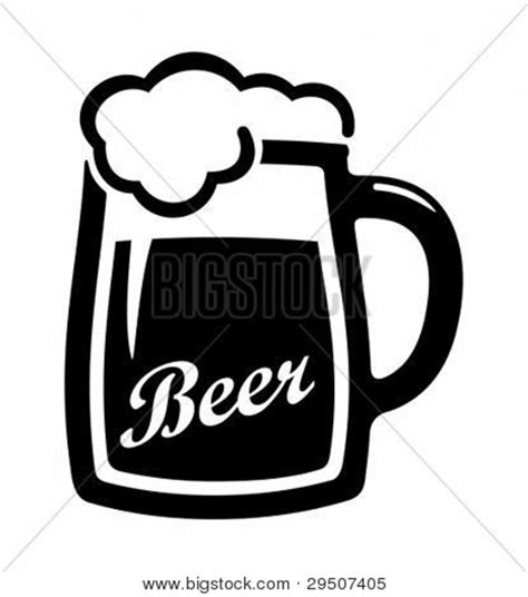 beer cartoon black and white beer mug silhouette clip art pictures to pin on pinterest