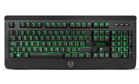 imagenes de un teclado teclado gaming krom khybrid hybrid mec 225 nico versus gamers