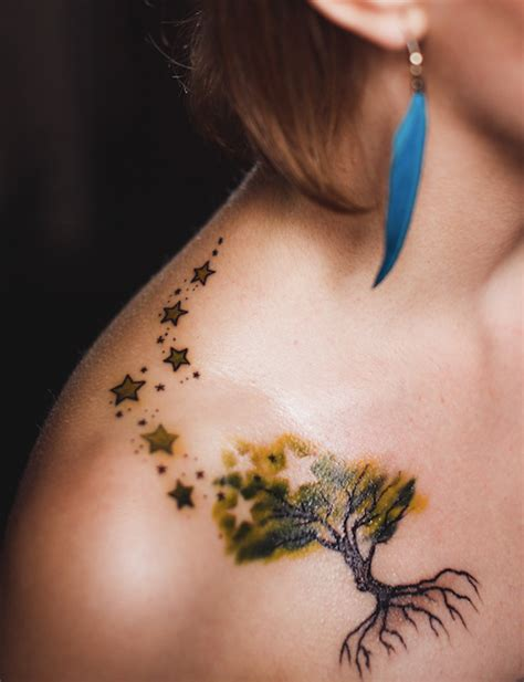 unique tattoo designs for girls unique tree design for styles time
