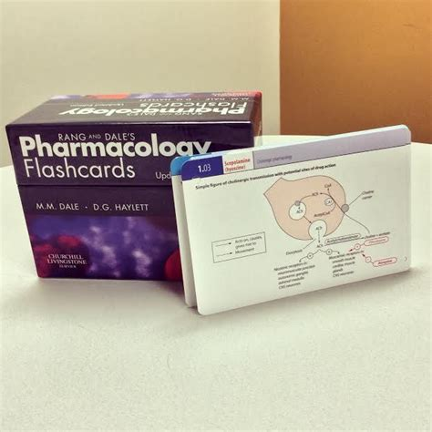 how to make cards for pharmacology rang and dale pharmacology flash cards pdf free