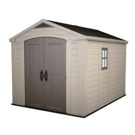 Osh Storage Sheds by Keter Factor Gable Storage Shed Common 8 Ft X 11 Ft