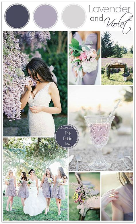 shades of purple rustic lavender wedding color ideas   Oh