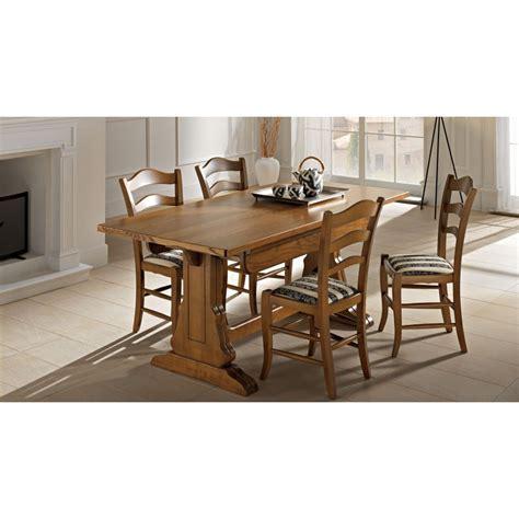 tavoli fratini allungabili tavolo fratino da 180x100 cm in legno allungabile a 4