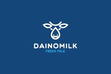 milk logo design logo  sale
