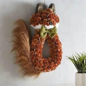 fox decor glitter wood curl fox wall decor pier 1 imports