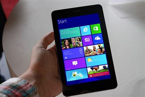 Microsoft Tablet Windows 8 microsoft allows windows 8 to run on smaller displays is