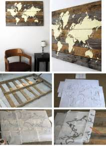Diy Living Room Wall Decor Pallet Board World Map Click Pic For 36 Diy Wall Ideas For Living Room Diy Wall