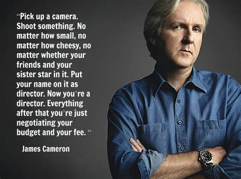 Film Quotes By Famous Directors | film director quote james cameron movie director quote