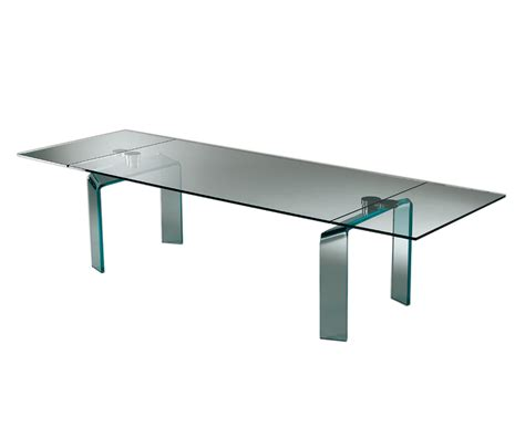 reflex tavoli in cristallo policleto allungabile tavoli pranzo reflex architonic