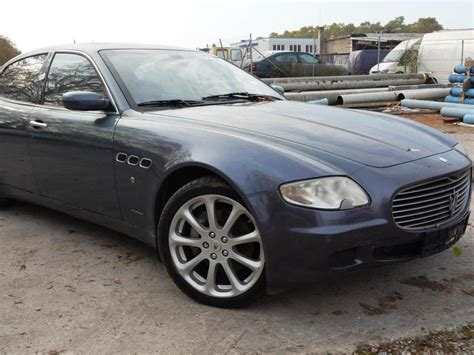 Used Maserati Quattroporte For Sale by Used Maserati Quattroporte Pkw For Sale Auction Premium