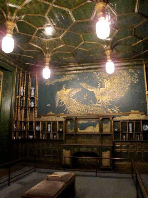 peacock room freer william morris fan club whistler s amazing peacock room freer gallery