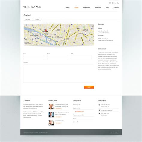 business site template html5 by flashmaniac themeforest