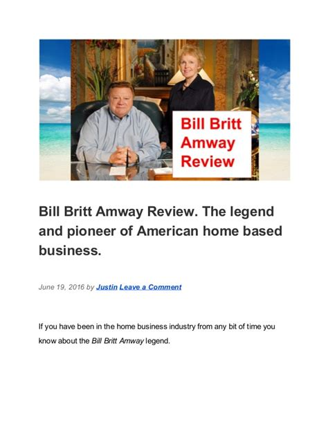 reviews of designmantic bill britt amway review
