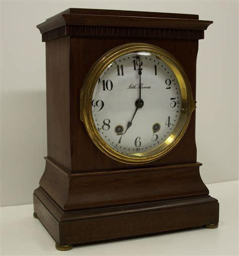 clock made of clocks seth thomas mantel clock