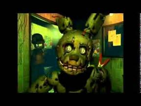 Fnaf 3 spring trap jumpscare youtube