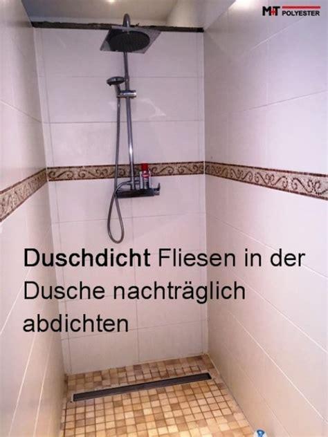 badezimmer fliesen undicht duschdicht fliesen abdichten dusche transparent fugen