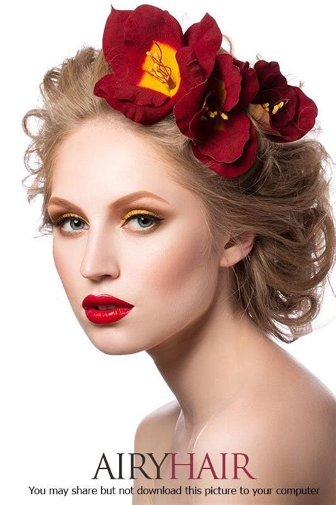 Bright Hairstyles by Bright Flowers Hairstyle Hair Styles And