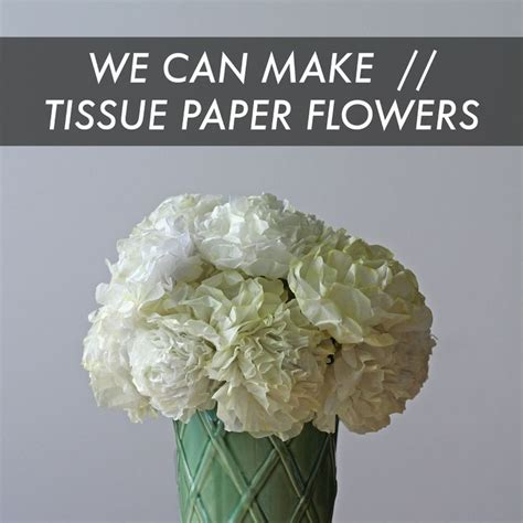 What We Can Make From Paper - we can make tissue paper flowers diy flower