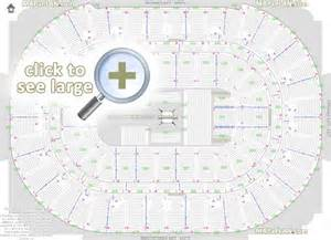honda center seat row numbers detailed seating chart