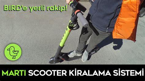 marti elektrikli scooter kiralama sistemi incelemesi youtube