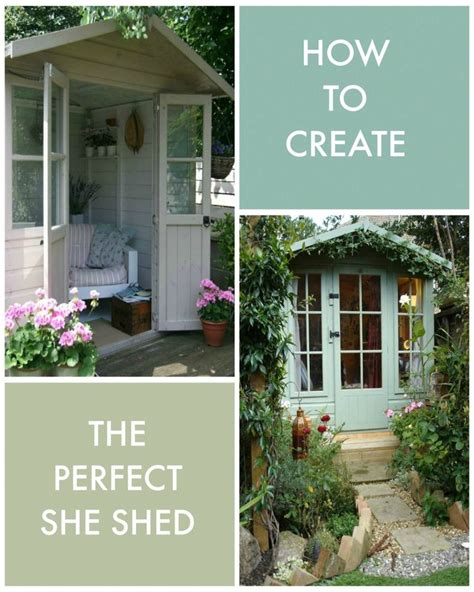 she shed pinterest how to create the perfect she shed kat got the cream