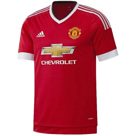 manchester united official soccer jerseys official soccer adidas manchester united 2015 2016 home mens soccer jersey