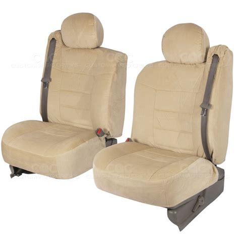 Oem Seat Upholstery by Oem Truck Seat Covers Front Pair Encore Cloth Built In
