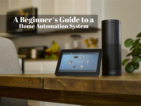 a beginner s guide to a home automation system