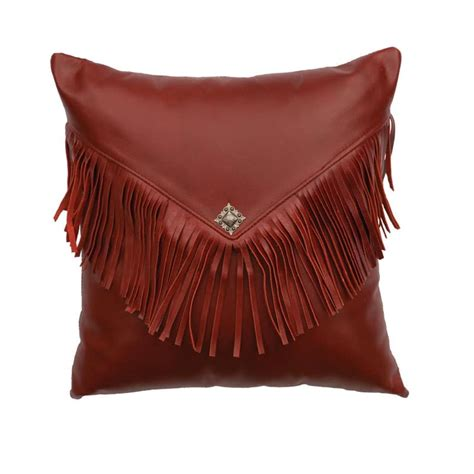 decorating leather with pillows western theme leather pillows rustic style charm