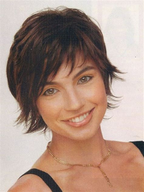 shag hairstyle for fine hair and round face 25 best short shaggy haircuts ideas on pinterest short