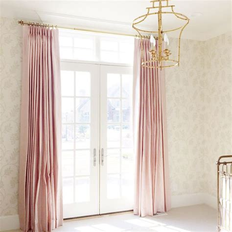 pink and white nursery curtains 25 best ideas about silk curtains on pink