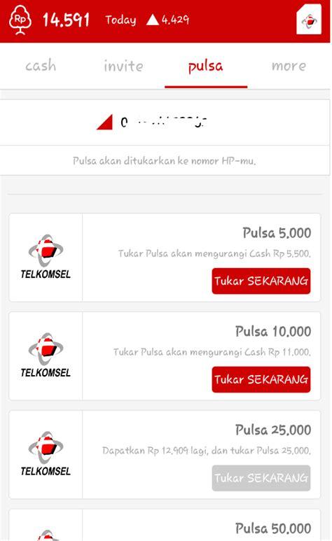 Pulsa Telkomsel 500 Ribu cara mendapatkan pulsa gratis lewat hingga ratusa