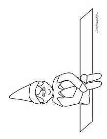 on the shelf coloring page printable on the shelf coloring pages coloring home