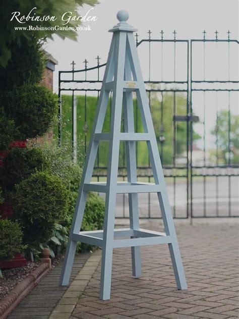 planter design windsor wooden garden obelisk robinson garden
